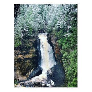 Het Hogere Schiereiland Michigan van de Herfsten Briefkaart