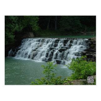Het Hol van de duivel, de Waterval van Arkansas Briefkaart