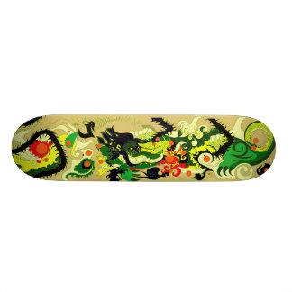 Het Hol van draken (Perkament) 18,4 Cm Mini Skateboard Deck