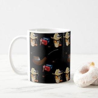 het hol van het mokkenman koffiemok