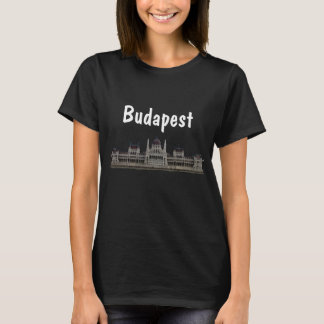 Het Hongaarse Parlement in Boedapest T Shirt