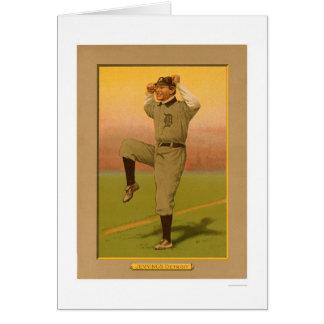 Het Honkbal 1911 van de Tijgers van Jennings van Briefkaarten 0