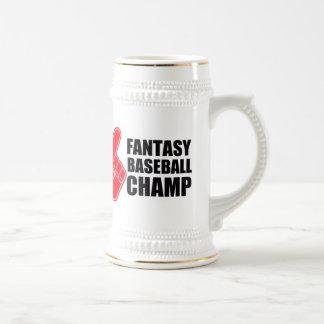 Het Honkbal Champ van de fantasie Bierpul