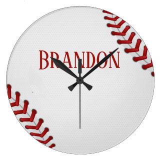 Het honkbal rijgt Naam van het Spel van de Bal van Grote Klok