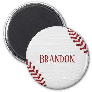 Het honkbal rijgt Naam van het Spel van de Bal van Magneet