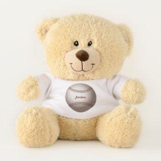 Het Honkbal van het kind Knuffelbeer