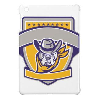 Het Hoofd Retro Schild van de Cowboy van de iPad Mini Cover