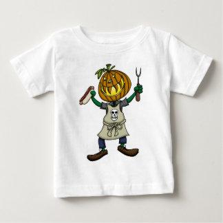 Het Hoofd Roosteren van de pompoen Baby T Shirts
