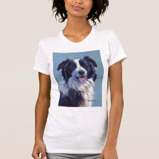 Het Hoofd van border collie T Shirt