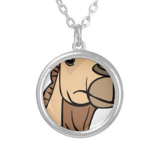 Het Hoofd van de kameel Zilver Vergulden Ketting
