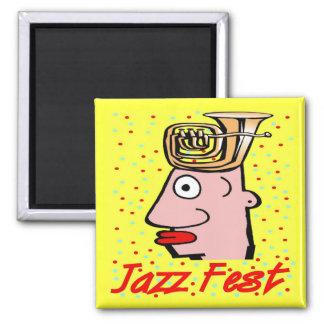 Het Hoofd van de Tuba van Fest van de jazz Magneet