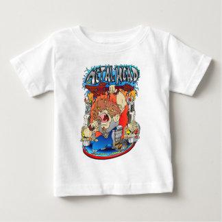 Het Hoofd van het metaal Baby T Shirts