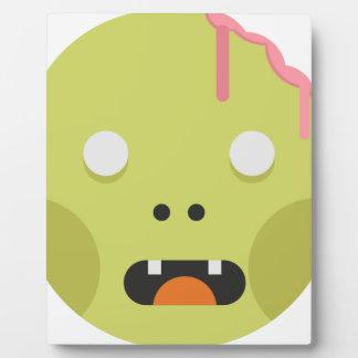 Het Hoofd van het Monster van de zombie Fotoplaat