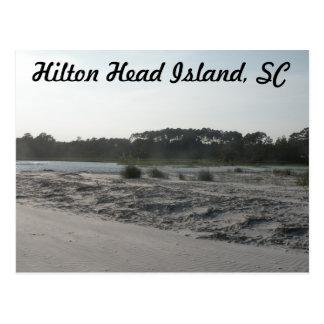 Het HoofdEiland van Hilton, Sc Briefkaart