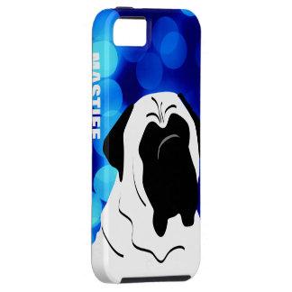 Het Hoofdhoesje IPhone van de mastiff Tough iPhone 5 Hoesje