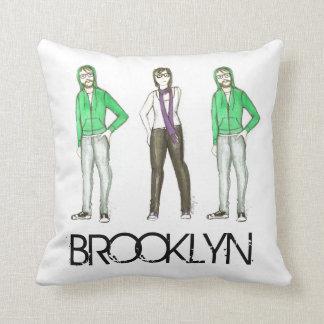 Het Hoofdkussen Hipsters van de Stad NYC van Sierkussen