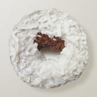 Het Hoofdkussen van de Doughnut van de kokosnoot Rond Kussen