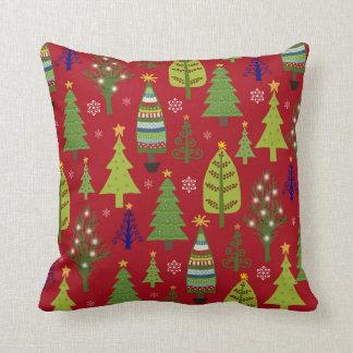 Het hoofdkussen van de kerstboom sierkussen