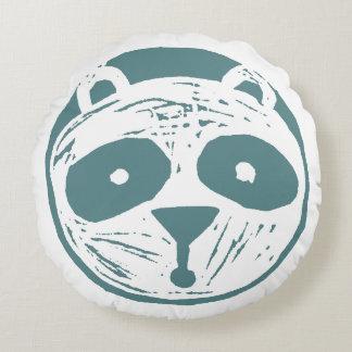 Het Hoofdkussen van de panda Rond Kussen