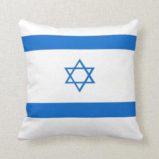 Het Hoofdkussen van de Vlag van Israël Sierkussen