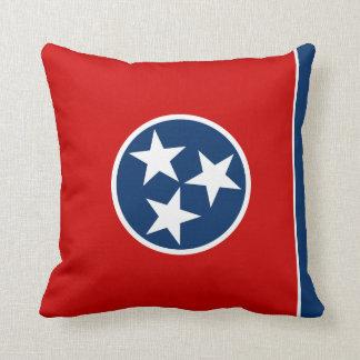 Het hoofdkussen van de Vlag van Tennessee Sierkussen