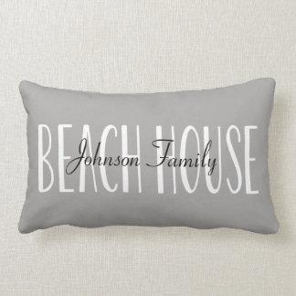 Het Hoofdkussen van het Huis van het strand Lumbar Kussen