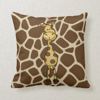 Het Hoofdkussen van het Oerwoud van de giraf Sierkussen
