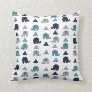 Het hoofdkussen van olifanten sierkussen
