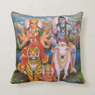 Het hoofdkussen van Parvati Ganesha van Shiva Sierkussen