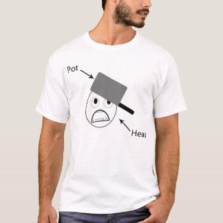 Het HoofdOverhemd van de pot T Shirt