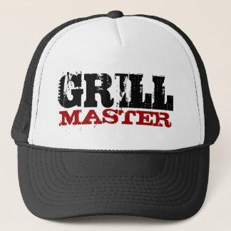 Het hoofdpet van de grill trucker pet
