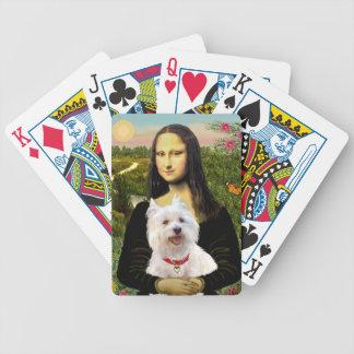 Het Hoogland Terrier van het Westen van Mona Lisa' Pak Kaarten