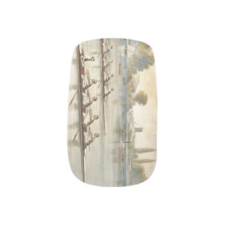 Het HOOGSTE Roeien Minx Nail Art
