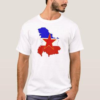 Het hoogtepunt van de Kaart van de Vlag van T Shirt
