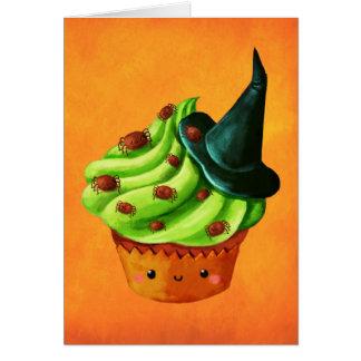 Het hoogtepunt van Halloween Cupcake van uiterst Kaart