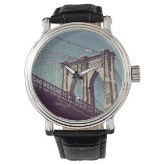 Het Horloge van de Brug van Brooklyn