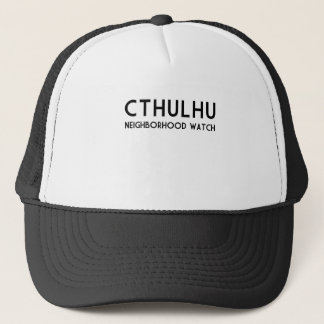 Het Horloge van de Buurt van Cthulhu Trucker Pet
