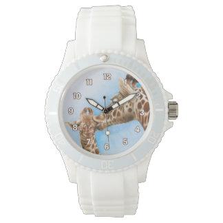 Het Horloge van de giraf & van het Kalf
