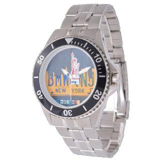 Het Horloge van de Kunst van de Nummerplaat van de