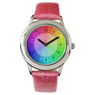 Het horloge van de regenboog