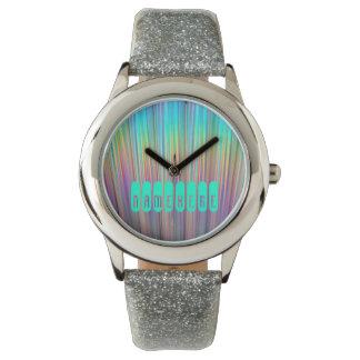 Het Horloge van de regenboog. Holografisch! Voeg