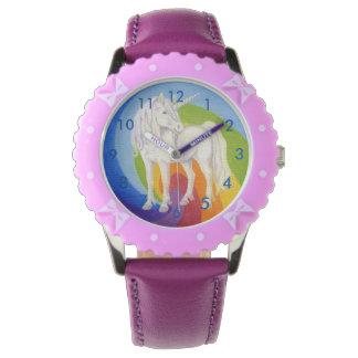Het horloge van de Regenboog van de eenhoorn