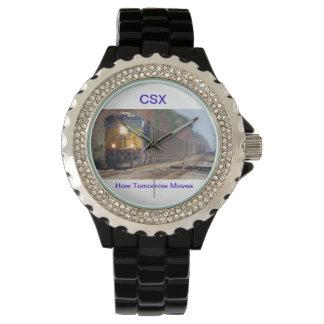 Het Horloge van de Trein van de Steenkool van CSX