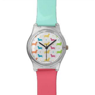 Het Horloge van de Vrouwen van de tekkel - de