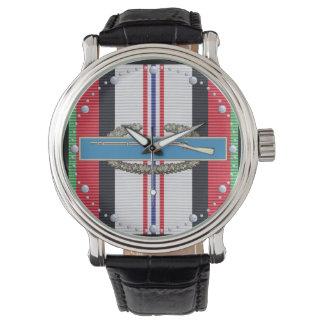 Het Horloge van het Kenteken van de Infanterist