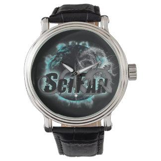 Het Horloge van het Logo van de Draak van SciFan