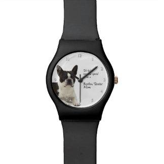 Het Horloge van het Mamma van Boston Terrier