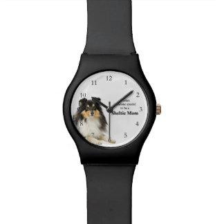 Het Horloge van het Mamma van Sheltie van de