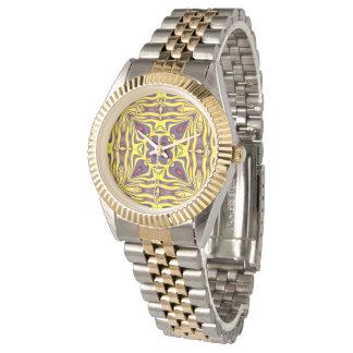 Het Horloge van koninklijke kleurrijke Vintage