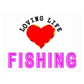 Het houden van de Visserij van het Leven Briefkaart